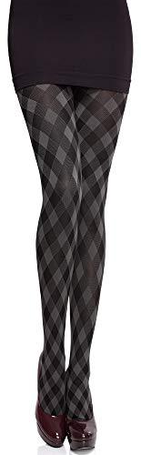 Merry Style Damen blickdichte Strumpfhose MS 317 60 DEN (Smoky, L (40-44))