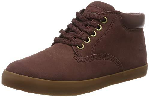 Timberland Damen Dausette Low Sneaker Halbhoch, Rot (Dark Brown Nubuck), 38.5 EU