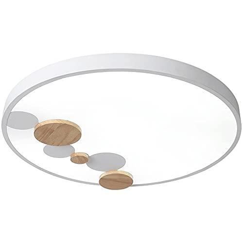 WANGYAN Lámpara De Techo LED Instalación Nórdica Ultradelgada Integrada Iluminación Circular Simple (3000k / 4000k / 6500k) para Habitación De Niños, Sala De Estudio, Lámpara De Dormitorio