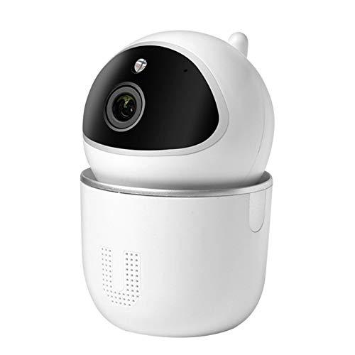 2-Way Intercom 1080P HD Home Security Night Shooting Función WiFi Monitor Cámara para interior con control APP (regulación británica)