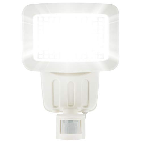 120 SMD LED Solar Powered Security Light in White - Waterproof and Comes...