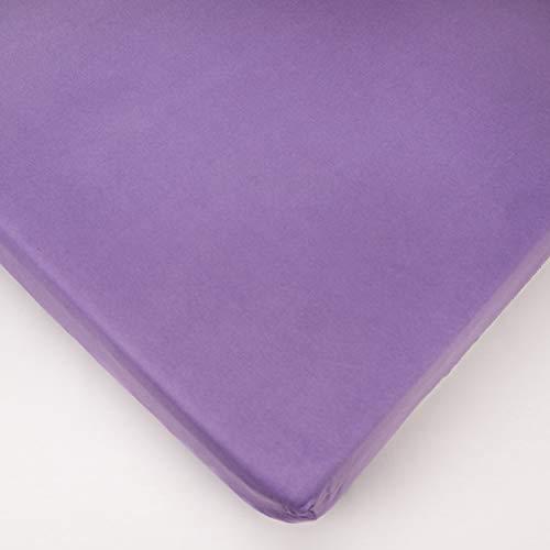 Drap-Housse en Jersey pour Lit Bébé 160x70cm - Violet