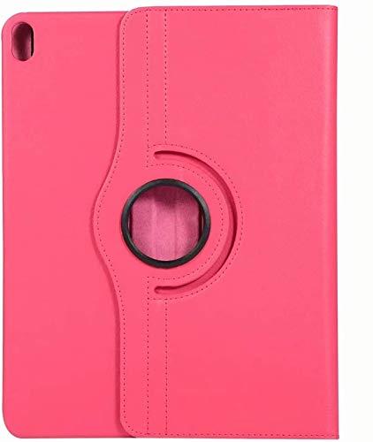 FANG Estuche para iPad Air 4 10.9 Pulgadas 2020 [Soporte para Carga De Lápiz De 2da Generación] - Cubierta Giratoria De 360 Grados para iPad Air 4ta Generación,Rose Red