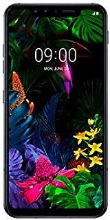 "LG G8s ThinQ (128GB, 6GB RAM) 6.21"" OLED Display, Snapdragon 855, Dual SIM GSM Factory Unlocked LM-Q810EAW - US + Global 4G LTE International Model (Mirror Black)"