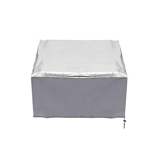 AMDHZ Garden Table Cover Outdoor Furniture Cover Garden Furniture Cover Garden Dustproof And Waterproof Cover Garden Furniture Cover Table And Chair Cover (Color : Black, Size : 180x180x90cm)