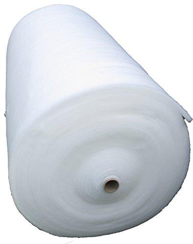 Universal Filtervlies für Aquarium und Teich, 150g/m², 1,5 m x 1 m, ca.1 cm dick, 1,5 m² (EUR 12,60/m²), Filtermatte weiß, Meterware, z.B. geeignet für Filtereinsätze von Eheim, Tetra, JBL, Vitakraft, Fluval, Juwel, Amtra ..., Haustier