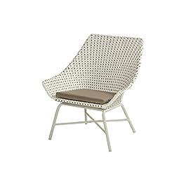 Hartman Fauteuil Lounge de terrasse, Jardin, Balcon Delphine   Résine-Wicker (Imitation rotin) et Aluminium   Design et…