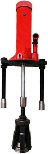 INTBUYING 15T Universal Hydraulic Cylinder Liner Puller Tool Dry-Type and Wet-Type for Hubs Fit Diameter of 80mm-140 mm