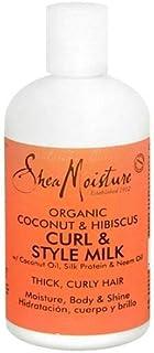 Shea Moisture Organic Curl & Style Hair Milk 8 Ounces