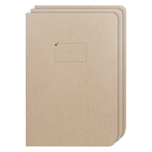 Northbooks Large 7x10 B5 Sketch Book Pad | Blank Unlined Plain Notebook Journal...