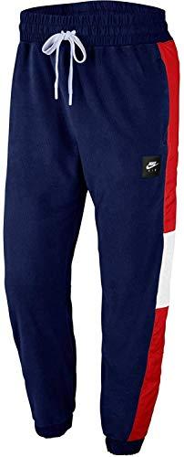 NIKE M NSW Air Pant Mix Ssnl Pantalones de Deporte, Hombre, Blue Void University Red White Black, S