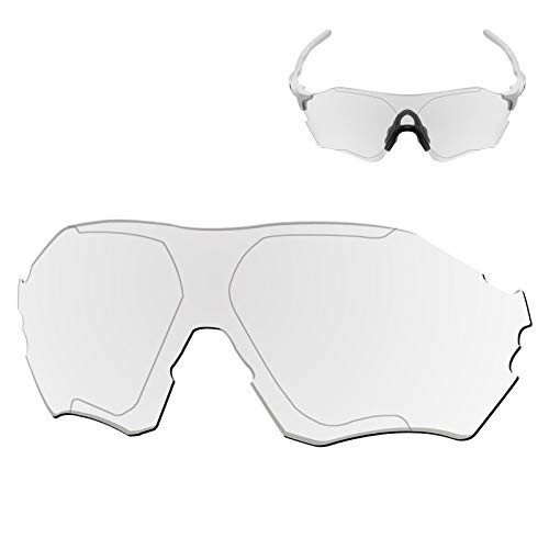 Galvanic Replacement Lenses for Oakley EVZero Range OO9327 Sunglass - Clear Non-Polarized