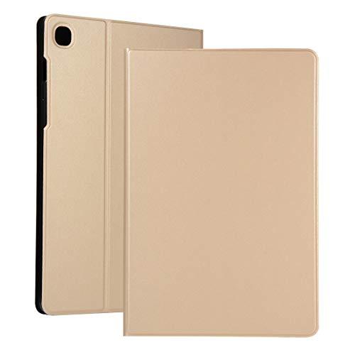 MDYHMC YXCY AYYD for Huawei Disfruta Tablet 2 de 10,1 Pulgadas de tensión elástica Textura Horizontal de Cuero del tirón del Caso con el sostenedor (Color : Gold)