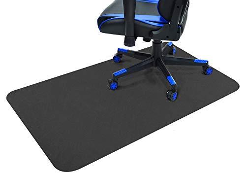 Gtracing チェアマット 床保護マット カーペット ラグ ゲーミングチェアマット ずれない デスクマット 傷防止マット 床マット大型 防音 洗える ISSA認証抗菌防臭 120CM*90CM*2mm (GT601)