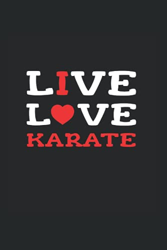 I Love Karate: Monthly Planner For Karate Students Or Sensei
