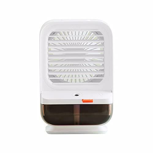 LAMCE Il Nuovo Mini Ventilatore dell Aria condizionata raffreddato ad Acqua USB Piccolo Dispositivo di Raffreddamento dell Aria del Desktop Domestico può scuotere la Ventola elettrica Spray u