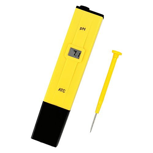 Digitales pH-Messgerät, tragbar, multifunktional, für Hydroponik / Aquarien / Pools / Fischindustrie / Laboratorien / Schulen / Lebensmittelindustrie