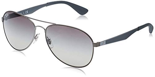 Ray-Ban Herren Rb 3549 Brillengestelle, Grau (Matte Gunmetal/Gradient Grey), 61