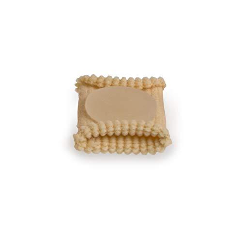 AFH Silikon Zehenschutz Mini mit Gel Kissen | Druckschutz | Schlauchbandage | 10 Stück | (M (ca. 3.0 x 2.5 cm))
