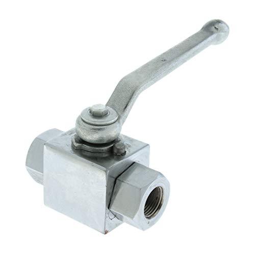 BSP 2-Wege-Hydraulik-Hochdruck-Kugelhahn DN10 Manuelles Absperrventil für Warm- und Kaltwassersysteme
