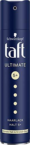 Taft Haarlack Ultimate Halt & Kristall-Glanz Halt 5+, 250 ml