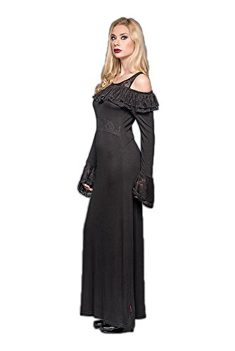 Queen of Darkness Kleid Romantic Fairytale schwarz