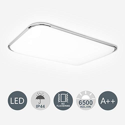 Hengda 48W LED Deckenleuchte Flimmerfrei 4320lm...