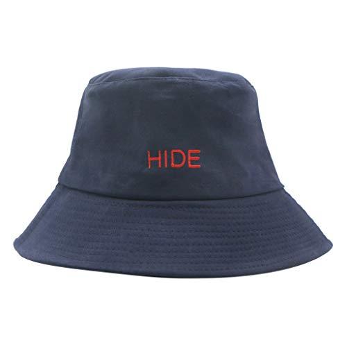 Yesmile Sombrero Sombrero de Pescador Mujer Cómodo Sombrero de Lavabo Sombrero de...