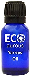 Yarrow Oil (Achillea Millefolium) 100% Natural, Organic, Vegan & Cruelty Free Yarrow Essential Oil | Pure Yarrow Oil By Ec...