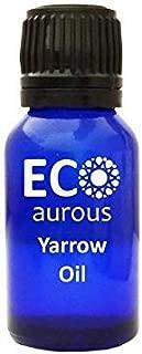 Yarrow Oil (Achillea Millefolium) 100% Natural, Organic, Vegan & Cruelty Free Yarrow Essential Oil | Pure Yarrow Oil By Eco Aurous (0.33 oz, 10 ml)