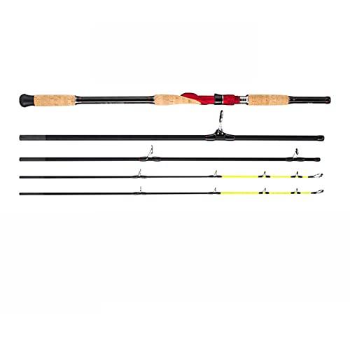 Langsamer Schaukeln-Eisen-Platten-Pole 1,8/2.1/2.4/2,7/3,0m Locken Gewicht 30-200g Spinnen- / Gussboot-Rod Ozean Angelrute (Color : Spinning 2.4m M XH)
