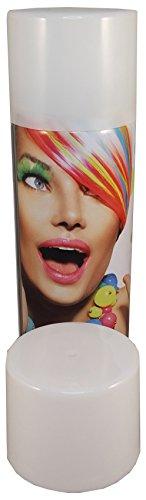 G&M Color Haarspray 250ml | 7 Farben | Haarfarben Fasching Karneval Halloween farbig (Weiß)