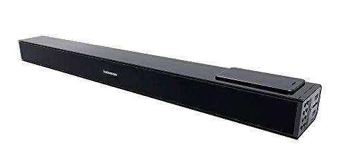 Thomson SB160iBT - Sistema de Sonido 2.1 con Posibilidad de Montaje en Pared, Color Negro