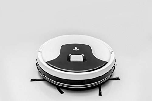 McTURING A3- TARR Robotic Vacuum Cleaner with WiFi 2600 Pa Strong Suction, Real time 2DMapping, 3000 mAh VTC6 Battery, Dry+Wet Cleaning, APP + Remote+ Voice Controlled(White)