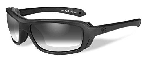 HARLEY-DAVIDSON Wiley X Rage-X LA Light Adjusting Motorrad Brille (Selbsttönend)