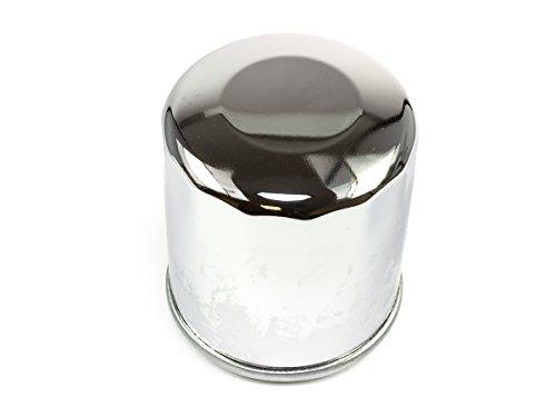 Preisvergleich Produktbild Ölfilter Hiflo verchromt HF303C für H O N D A K a w a s a k i P o l a r i s Y a m a h a