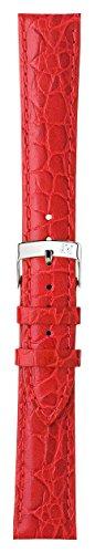 Morellato cinturino in pelle donna LIVERPOOL rosso 20 mm A01U0751376083CR20