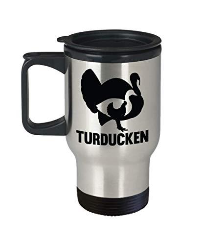 Turducken Travel Mug Turkey Duck Chicken Gift