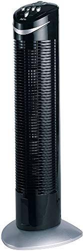 AEG T-VL 5531 Tower-Ventilator, Höhe 75 cm, 3 Laufgeschwindigkeiten, 120 Minuten-Timer