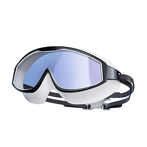 Gafas De Natación Unisex Frame De Alta Definición De Alta Definición Impermeable Y Anti-Niebla Adulto Adulto Gafas De Natación Profesional Equipo De Buceo Gafas Cómodas