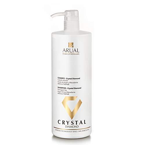Arual Champú Crystal 1000ml Reparador Cabello
