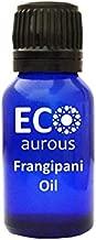 Frangipani Oil (Plumeria) 100% Natural, Organic & Vegan Frangipani Essential Oil | Pure Frangipani Oil By Eco Aurous