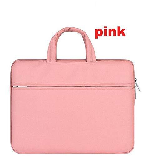 Männer Frauen Tragbare Notebook-Handtasche Air Pro 11 12 13 14 15.6 Laptop-Tasche/Schutzhülle Für Dell HP MacBook Xiaomi Surface Pro 3 4,4 Handbag pink,for xiaomi air 12