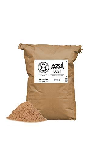 Grillgold Räuchermehl Wood Smoking Dust. Zum räuchen und kalträuchern von Fisch, Fleisch und Gemüse auch für BBQ und Grill geeignet. In Papier-Sack befüllt mit 15 Liter Birke