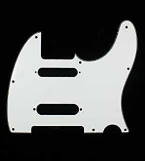 (A63) Custom Guitar Pickguard For Nashville Tele Style ,3ply White
