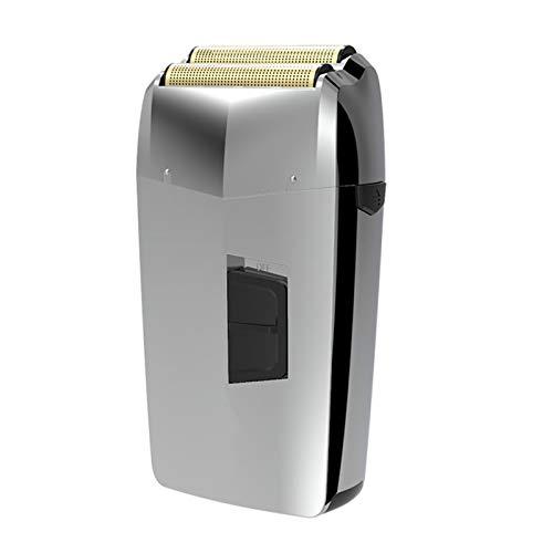 Eurobuy Afeitadora de Barba Eléctrica Desmontable Y Lavable con Carga USB Recortadora de Barba Máquina de Afeitar de Pelo Ligera Y Portátil
