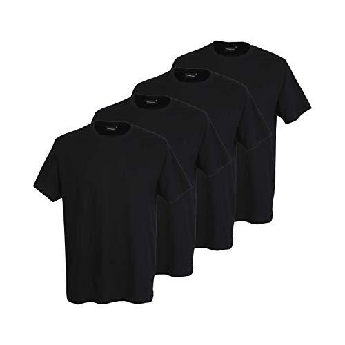 Götzburg Herren 4er Pack Basic T-Shirt mit Rundhalsausschnitt 56