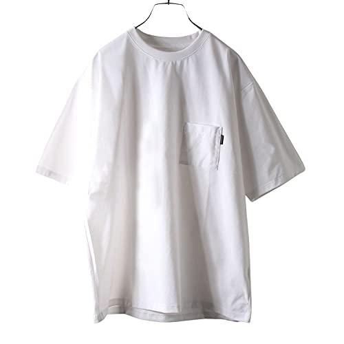 [ザノースフェイス] Tシャツ ショートスリーブエアリーポケットティー メンズ NT11968 ホワイト L