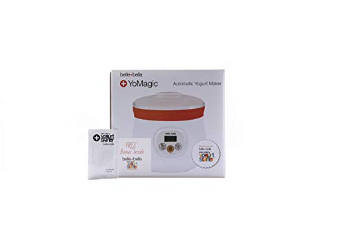 Automatic Yogurt Maker with Free Bonus | Includes one five gram non-dairy yogurt starter | Will make vegan yogurt, Greek yogurt, non-dairy yogurt, plant base yogurt, and dairy yogurt | Economical , and good for you with no sugar added , and billions of live probiotic cultures