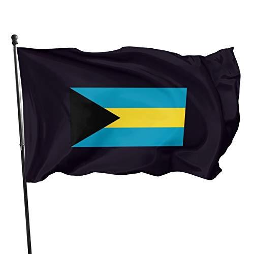 Bandierine con bandiera e mappa delle Bahamas